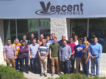 Vescent Photonics Summer 2015 Family Portrait